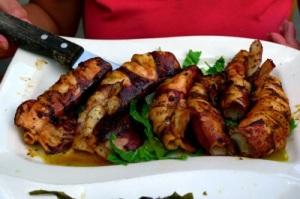 grilled calamari...heaven!