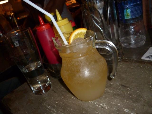 cocktail at Monkey Bar