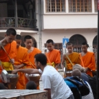 Buddhist monks and #firstworldproblems in Laos